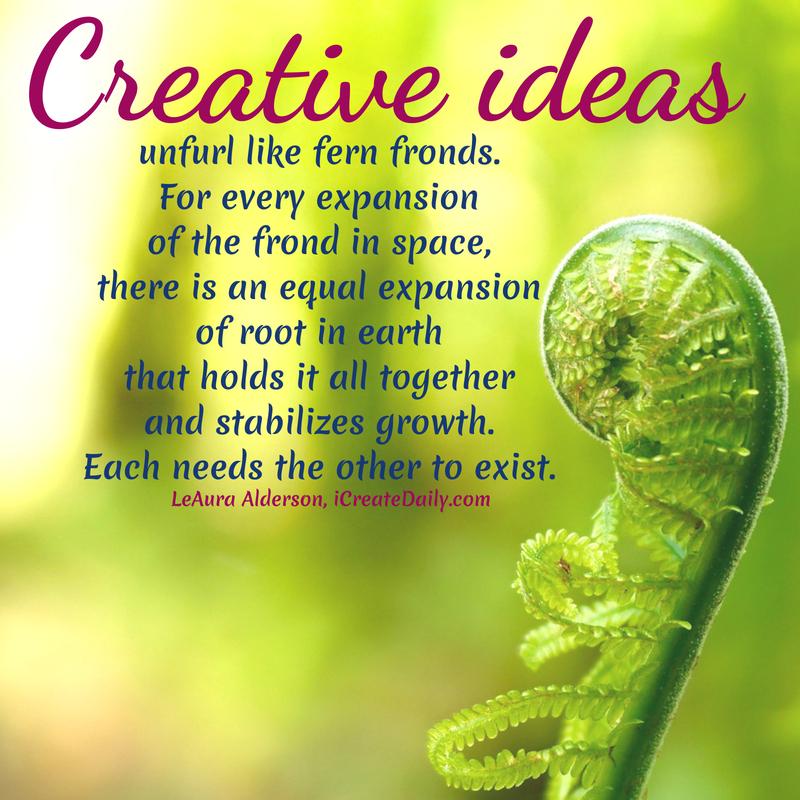 creative ideas,