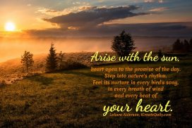Arise With The Sun Quote