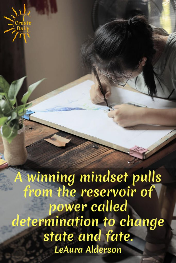 Determination is a Winning Mindset