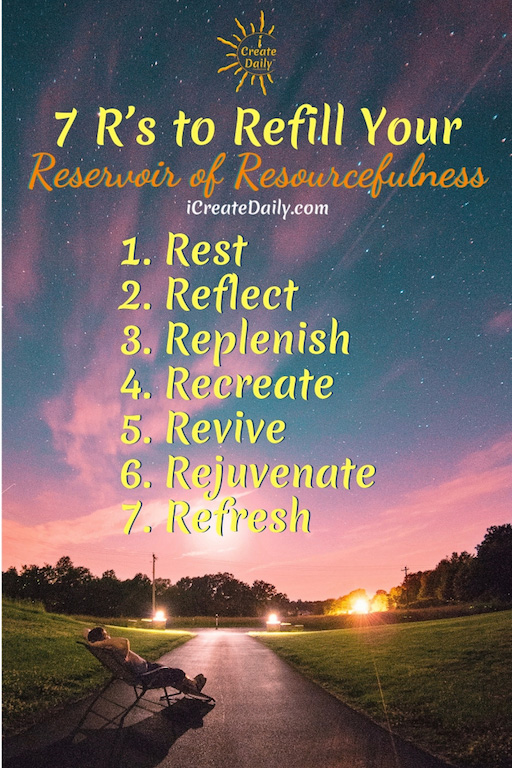 Seven R's to Refill Resourcefulness