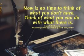Think of What You Can Do