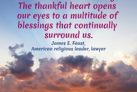 Gratitude As a Commandment