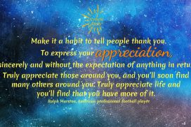 Appreciate Life Without Expectation