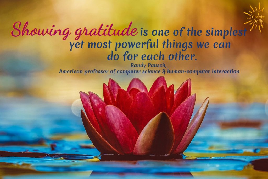 Gratitude is The Most Powerful Thing