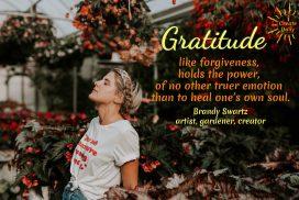 Gratitude Heals The Soul