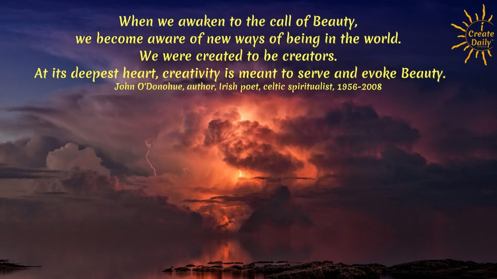 Beauty and Creativity Quote