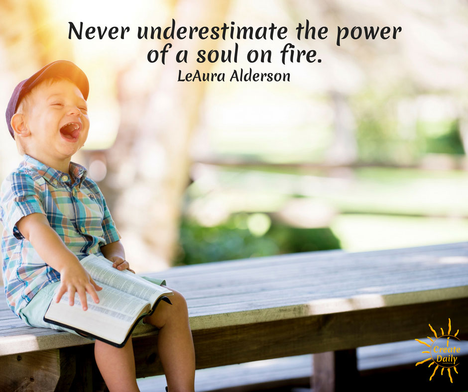 Never Underestimate The Power of a Soul