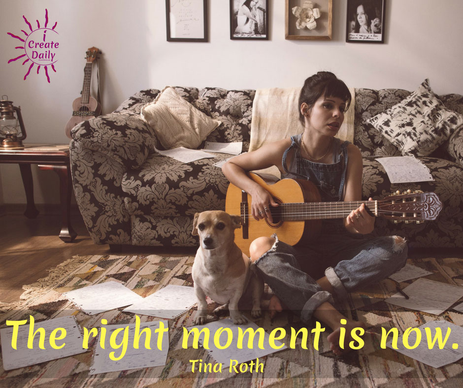 The Right Moment is Now