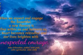Expect and Engage the Beautiful