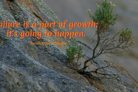 Failure Is A Part Of Growth