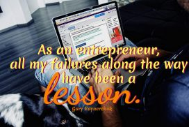 Failures are Lessons