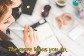 Ideas Quote