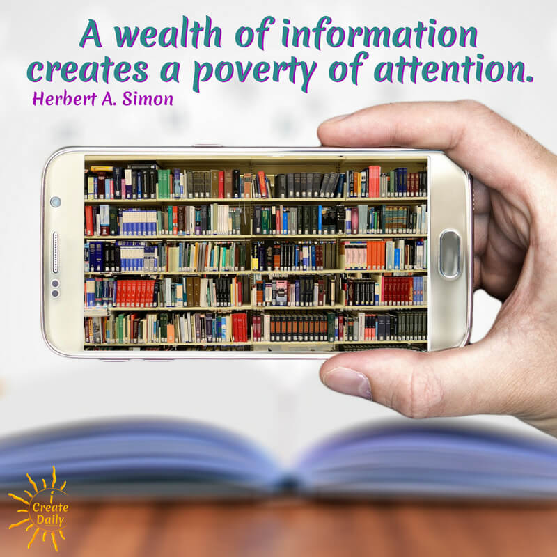 Information vs Attention Quote