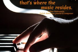 Where the music resides