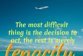Decision and Tenacity Quote