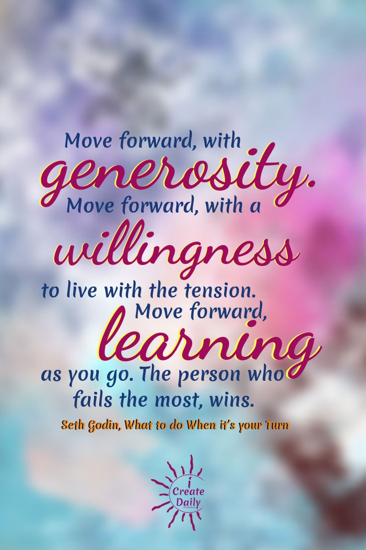 The Person Who Move Forward, Wins