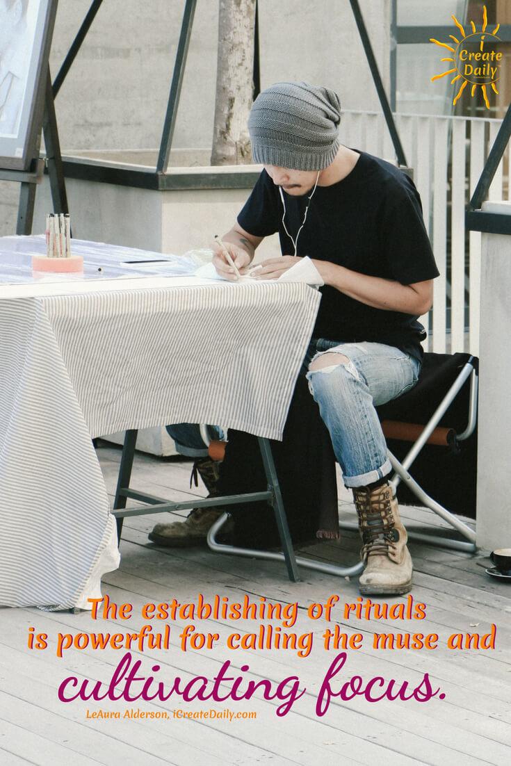 Writing Ritual Quotes