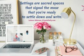 Sacred Spaces for Writing Rituals