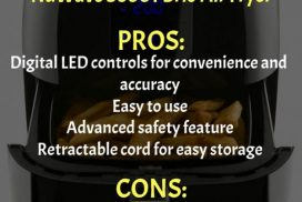 NuWave 36001 Brio Air Fryer Pros and Cons