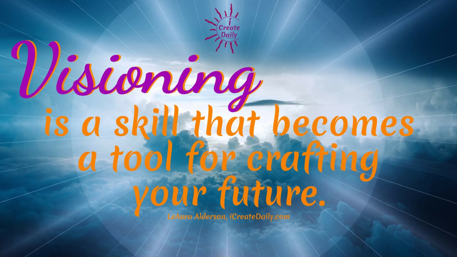 Visioning Is a Skill for Future