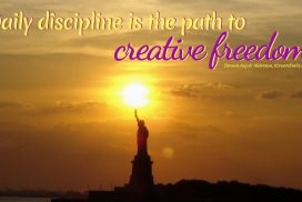 Daily Discipline for Creative Freedom