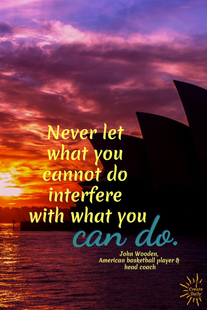 Just Do What You Can Do