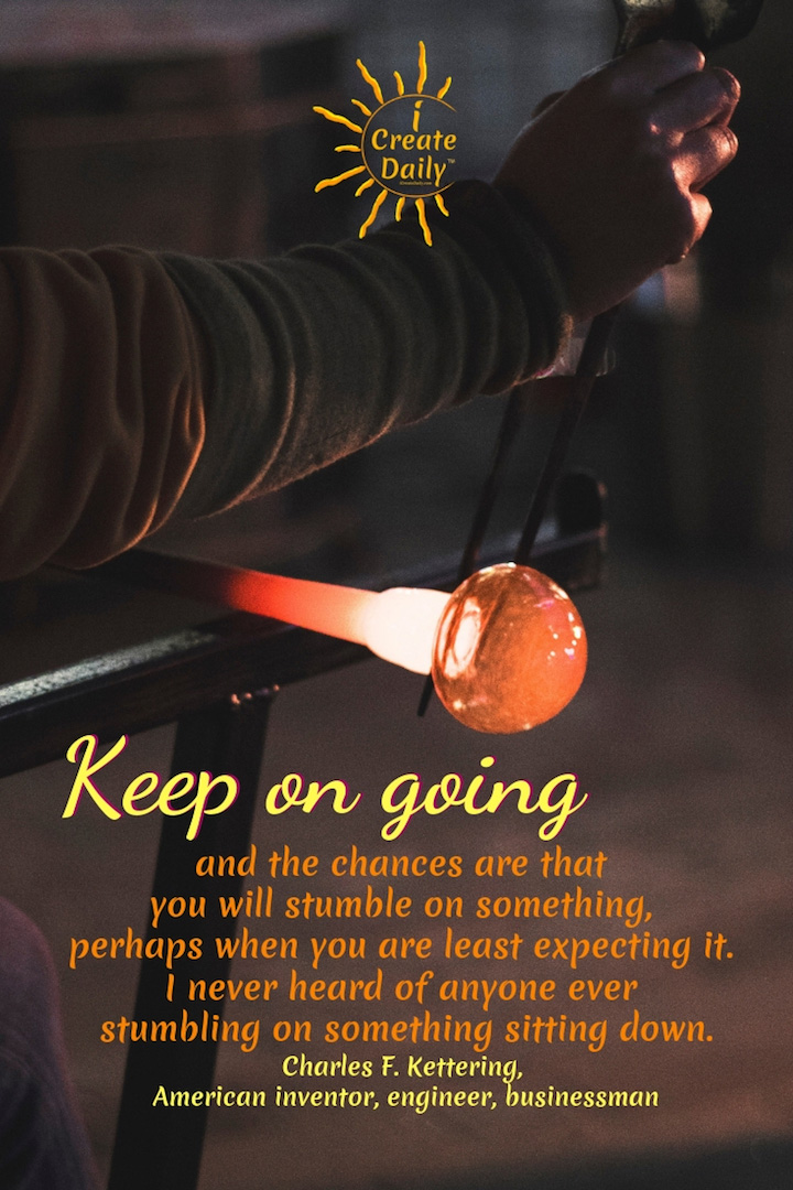 Keep on Going Instead of Sitting Down