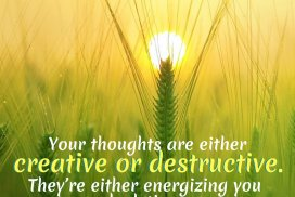 Choose Creative Thoughts