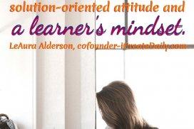 Success Needs Learner's Mindset
