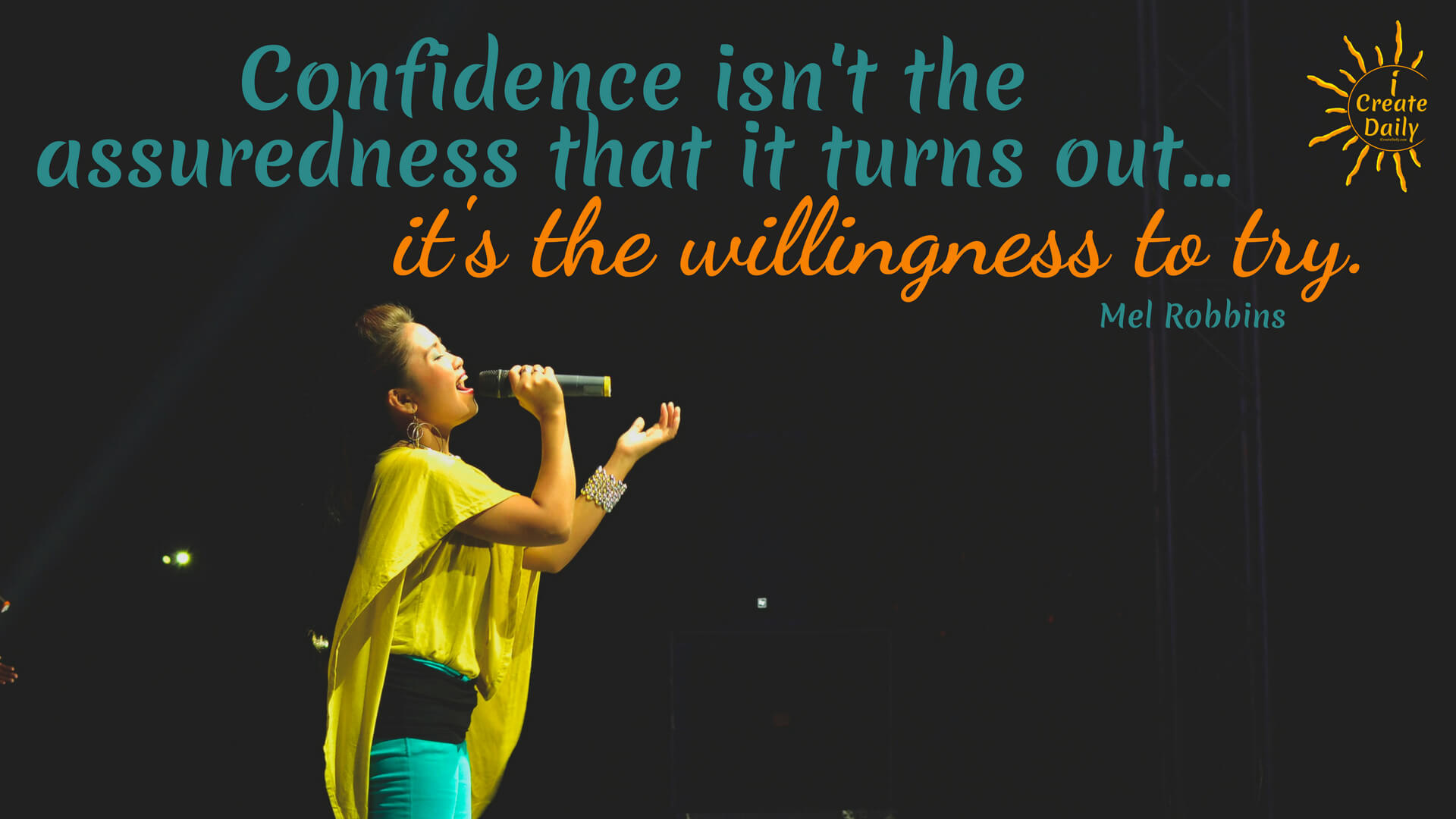 Confidence Is Willingness
