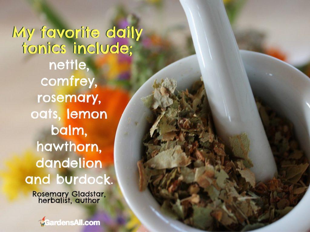 Favorite Daily Tonics