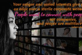 Interest Give Edge Over a Sterile Corporate Website