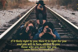 Feel the Right for You