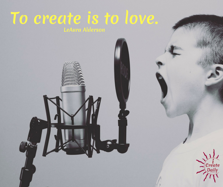 Creativity And Love Quote