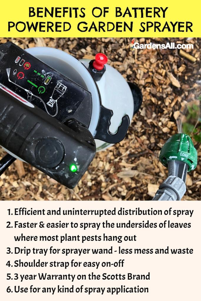 Benefits of Battery Powered Garden Sprayer