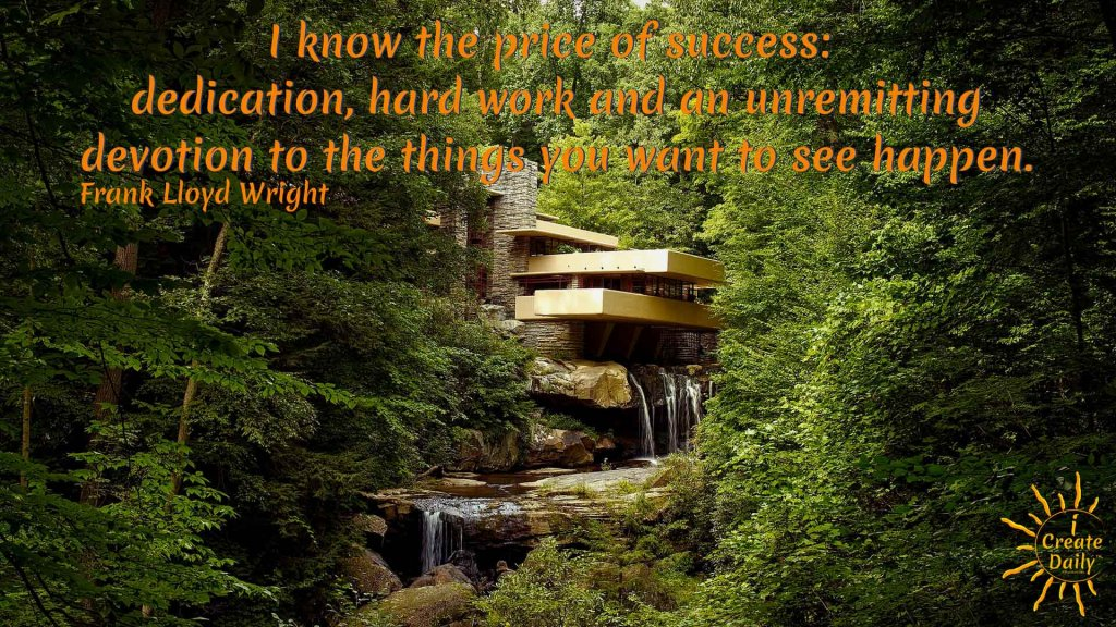Know The Price Of Success