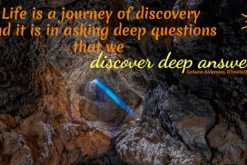Life Is A Journey Of Discovery