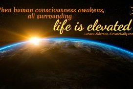When Human Consciousness Awakens