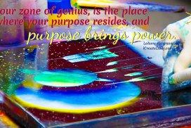 PURPOSE and Your Zone of Genius #ZoneOfGeniusQuote #InTheZone #PassionQuote #iCreateDaily #PurposeQuote #Purpose #Power