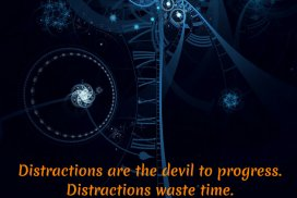 Distractions Waste Time