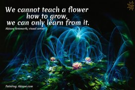 Life Is About Growing And Learning