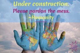 Do not let fear and anxiety strangle your creative or paralyze you from working on your goals. Focus on your future and do one thing daily toward that. We are all a work in progress... WIP, individually and collectively. We are humanity under construction. #GrowthQuotes #HumanityQuotes #PersonalDevelopmentQuotes #EarthQuotes #Covid19Quotes