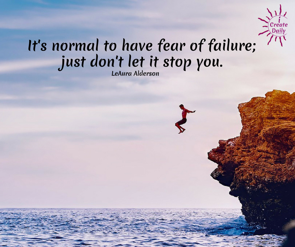 It's normal to have fear; just don't let it stop you. When you face your fears they disappear. #FearQuotes #FaceYouFears #BeBrave #Strength #FearOfFailure #Motivation