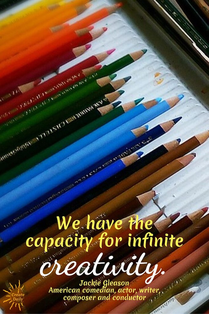 We have the capacity for infinite creativity. ~Jackie Gleason, comedian, actor, writer, composer, conductor, 1916-1987 #inspiration #ideas #design #writing #DIY #quotes #drawings #thinking #photography #hobbies #artwork #exercises #decor #business #imagination #life #motivational #thoughts #passion #dreams #work #women #howtobe #mind #office #home #background #room #forkids #artists #illustration #wallpaper #presentation