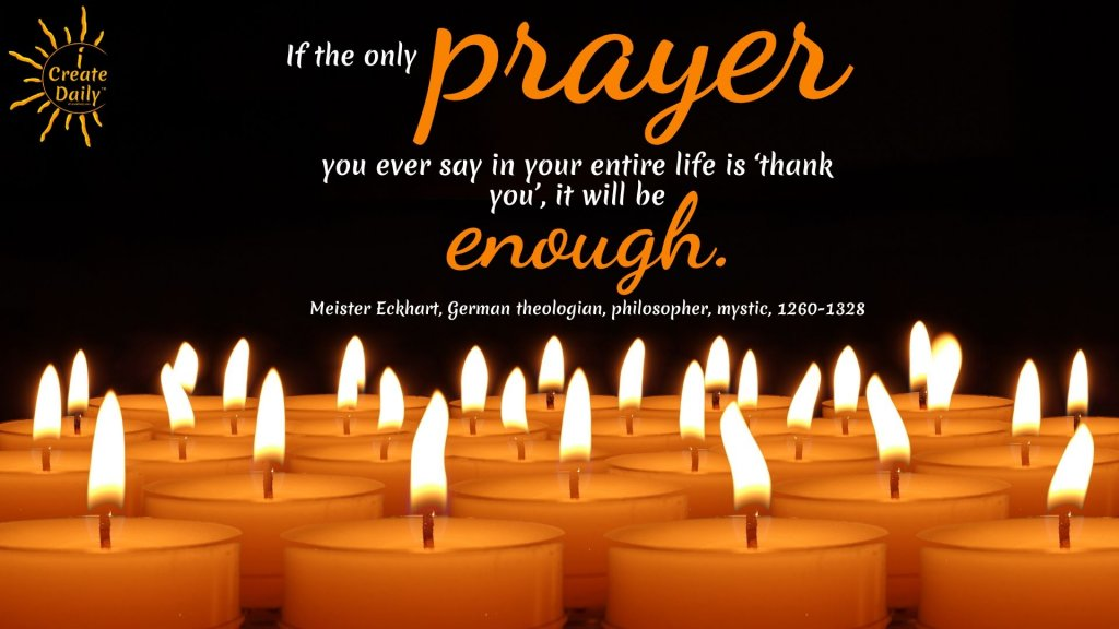 The Prayer of Thank You | TheQuoteGeeks | Spiritual