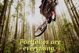 Portfolios are everything, promises are nothing. Do the work.