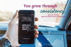You grow through consistency. ~Gary Vaynerchuk, magnate, author #GaryVaynerchukQuotes #GaryVeeQuotes #GrowthQuotes #ConsistencyQuote #Growth #QuotesEntrepreneur #QuotesPositivity