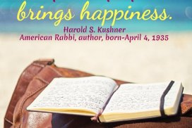 Caring about others, running the risk of feeling, and leaving an impact on people, brings happiness. ~Harold S. Kushner, American Rabbi, author, born-April 4, 1935 #HappinessQuote #Caring #Helping #SpreadHappiness #HaroldSKushnerQuote #Kindness #KindnessQuote