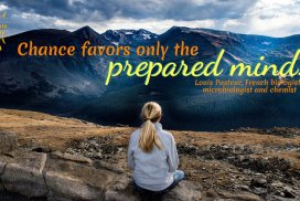 Chance favors only the prepared mind.