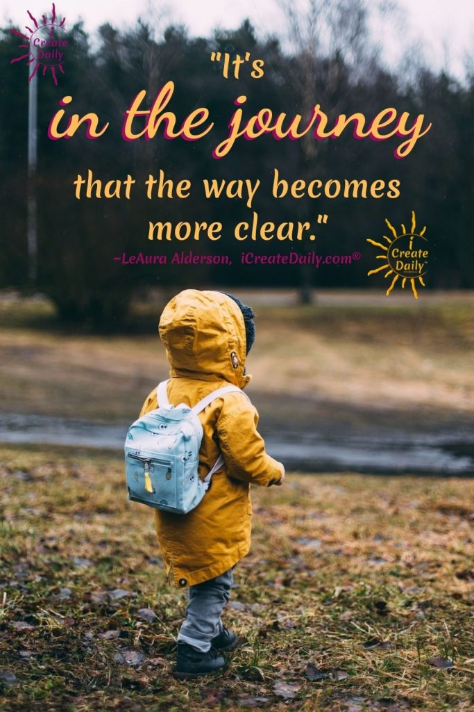 LIFE IS THE JOURNEY: Keep it simple. Like you, your plan will evolve as you go. Just set the course that is most apparent in the direction of your dreams. Head in that direction daily, and the rest will sort itself out along the way. #WinningMindset #iCreateDaily #JourneyQuotes #LifeIsTheJourney
